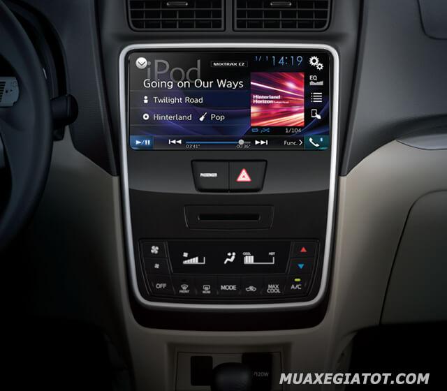 Nổi bật ở hạng mục này đó là ở biến thể cao cấp nhất được bổ sung loạt trang bị hiện đại như hỗ trợ kết nối Apple CarPlay/Android Auto