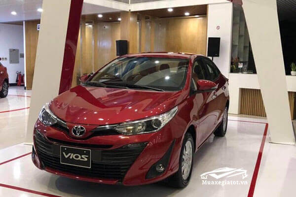 Vios đang được các đại lý Toyota giảm giá mạnh