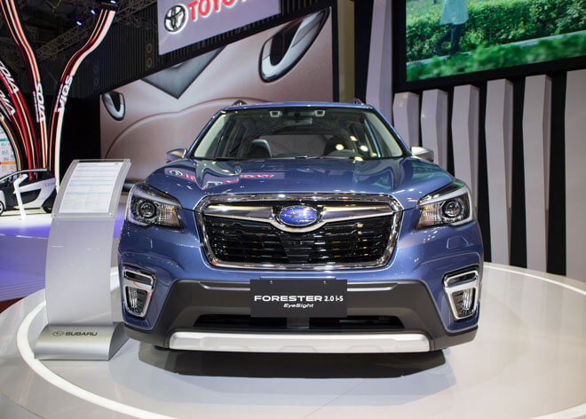 Đánh giá Subaru Forester 2020 nhập Thái kèm giá bán 03/2020