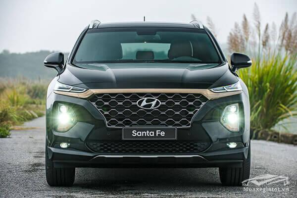 """Chi tiết Hyundai SantaFe 2.2L Dầu Cao Cấp 2020 – Lái đầm tay, tiện nghi """"hạng thương gia"""""""
