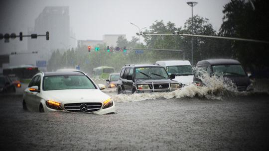 Xe bị ngập nước