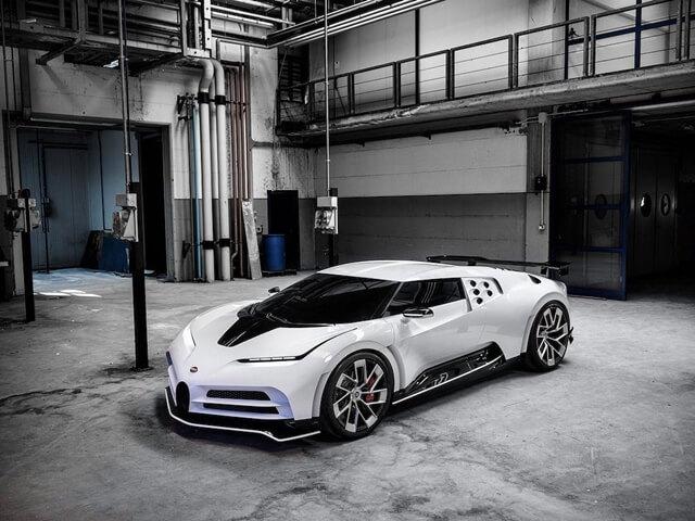 14 - Chi tiết Siêu phẩm Bugatti Centodieci mới ra mắt