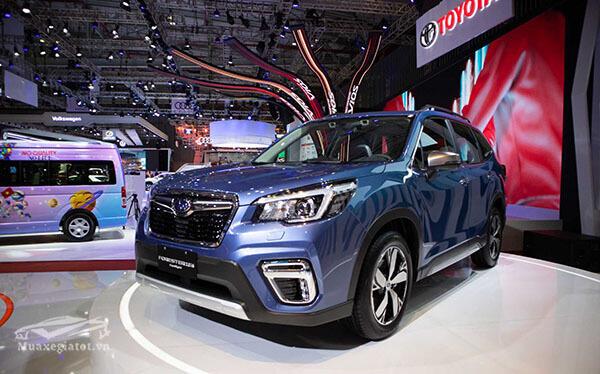 2 1 - So sánh Subaru Forester 2021 và Mazda CX-5 2021