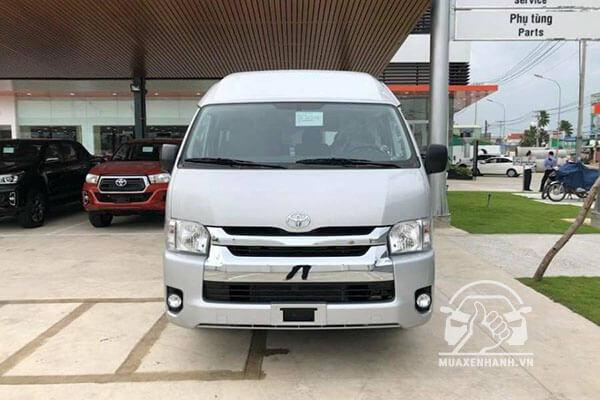 Đánh giá xe 16 chỗ Toyota Hiace 2020 kèm giá bán 03/2020