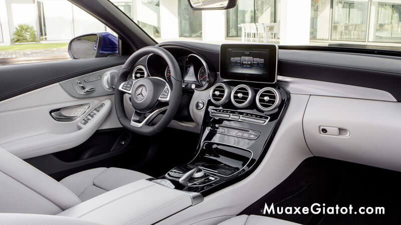tien-nghi-noi-that-mercedes-c200-cabriolet-2020-muaxegiatot-com