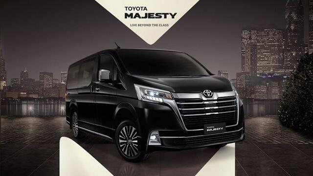 """Chi tiết Toyota Majesty hoàn toàn mới – """"phiên bản giá rẻ"""" của Toyota Alphard"""