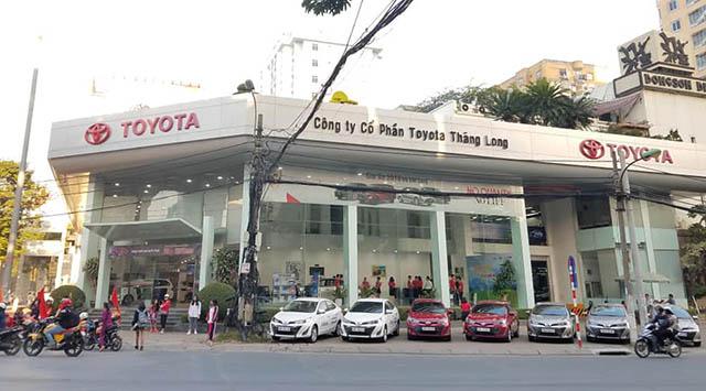 10 - Giới thiệu Đại lý Toyota Thăng Long (Toyota Cầu Giấy)