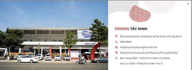 12 - Giới thiệu đại lý Toyota Lý Thường Kiệt