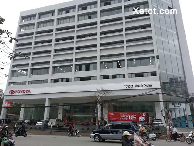 5 - Giới thiệu đại lý Toyota Thanh Xuân