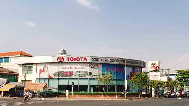 8 1 - Giới thiệu đại lý Toyota Hùng Vương
