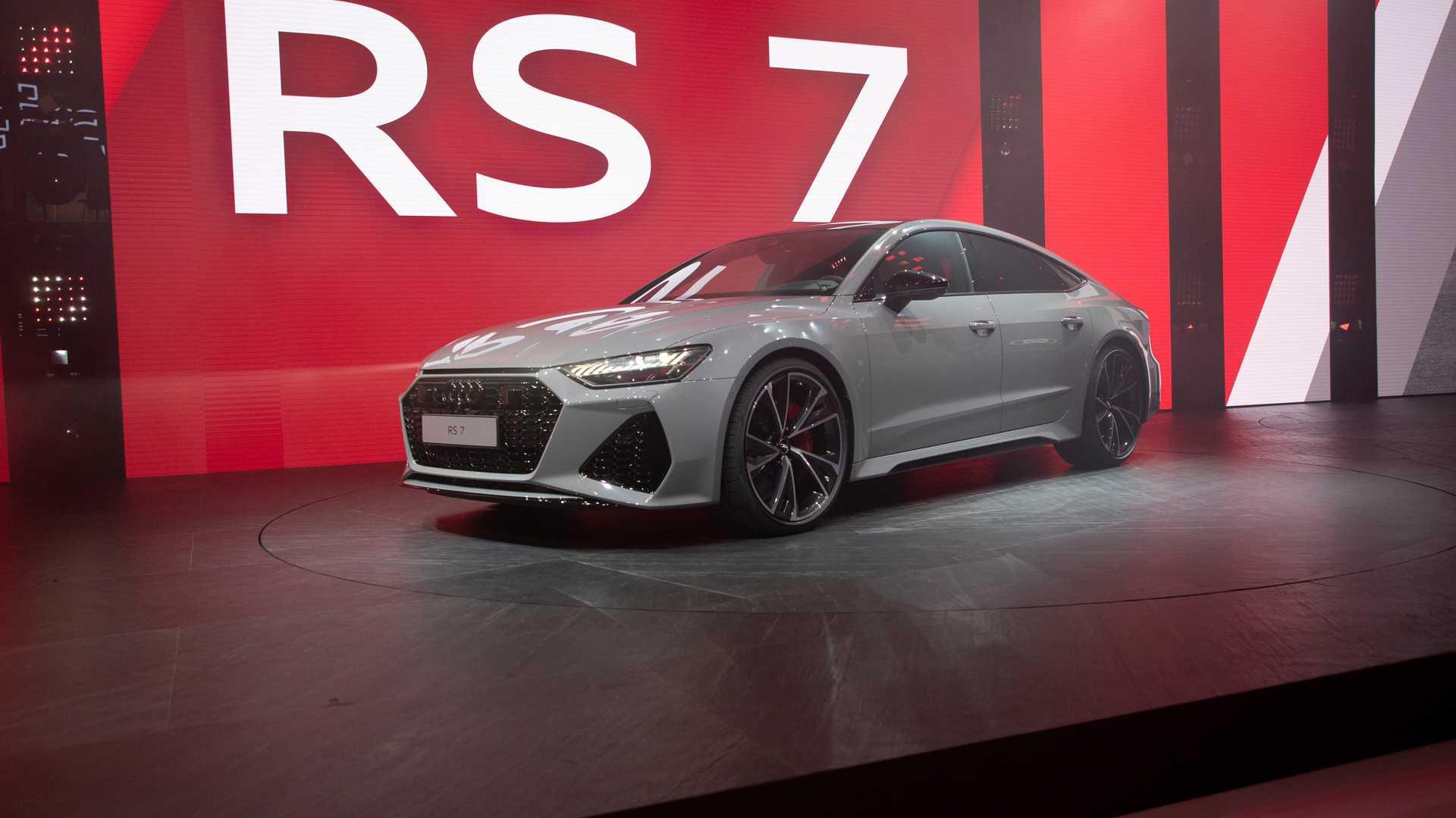 Audi RS7 Sportback 2020 ra mắt tại triển lãm Frankfurt Motor Show 2019 đang diễn ra tại Đức