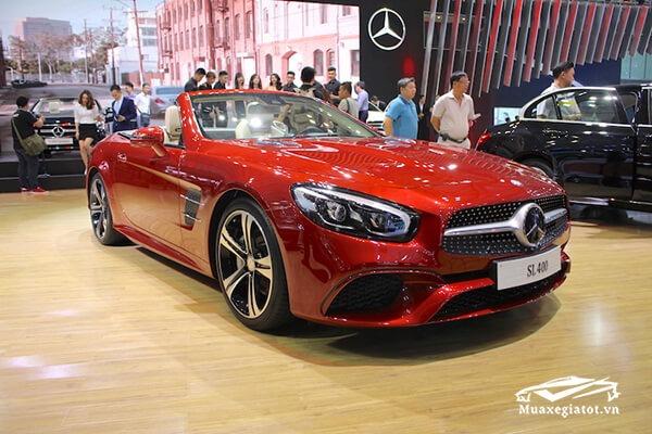 Đánh giá xe Mercedes SL400 2020, Nơi tinh hoa hội tụ của SL-Class