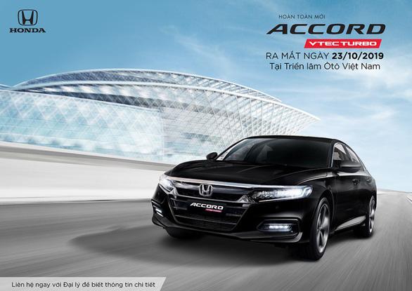 Honda chính thức nhận đặt hàng xe Honda Accord 2020