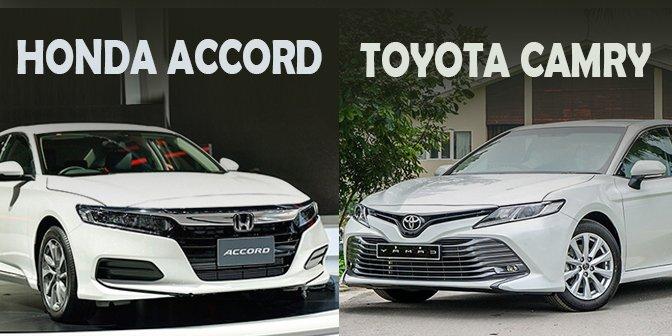 Chọn mua Toyota Camry 2020 hay Honda Accord 2020