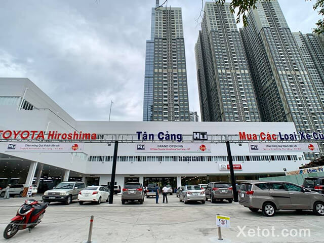Ngoài kinh doanh xe mới, Dịch vụ mua bán xe cũ của Toyota Tân Cảng cũng được đánh giá cao.