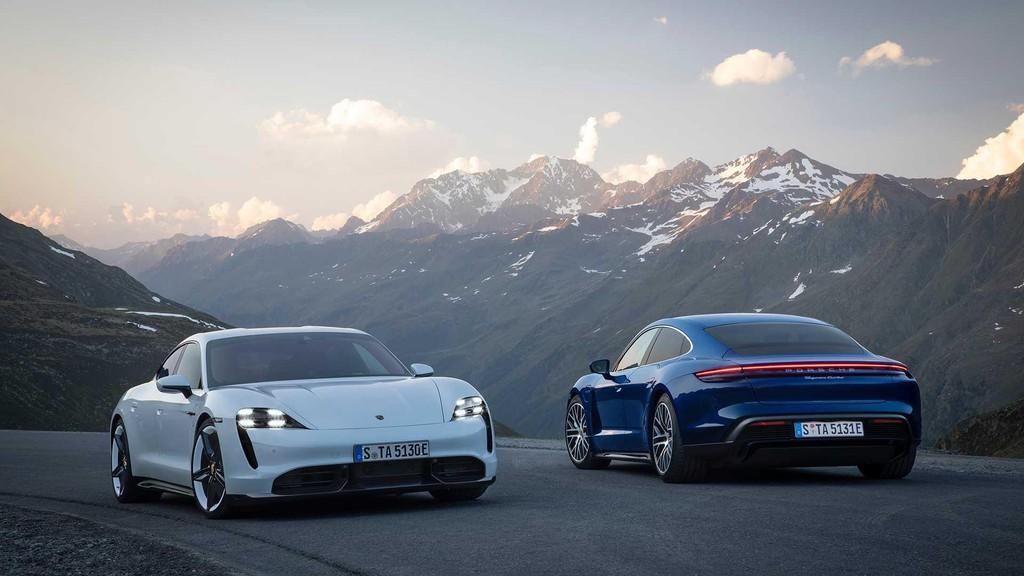 """2020porschetaycan - Đánh giá Porsche Taycan 2021 - """"Tuấn mã"""" dũng mãnh của kỷ nguyên xe điện"""