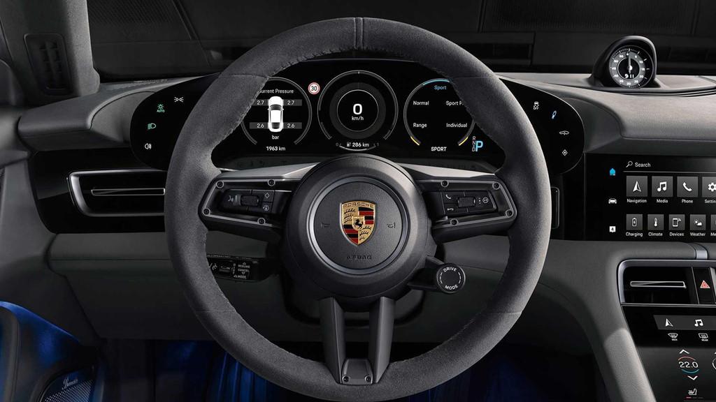 """2020porschetaycan 15 - Đánh giá Porsche Taycan 2021 - """"Tuấn mã"""" dũng mãnh của kỷ nguyên xe điện"""