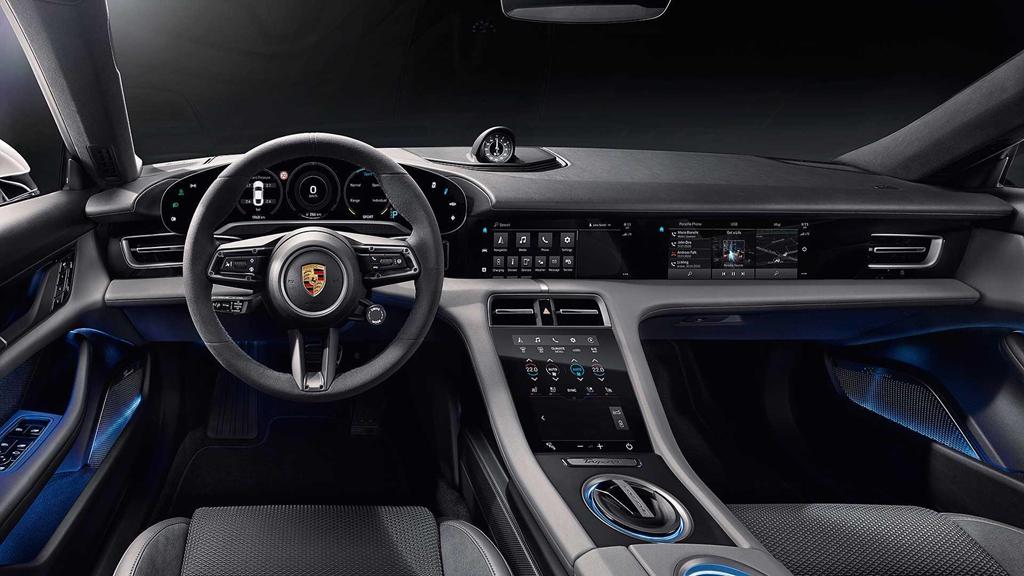 """2020porschetaycan 19 - Đánh giá Porsche Taycan 2021 - """"Tuấn mã"""" dũng mãnh của kỷ nguyên xe điện"""
