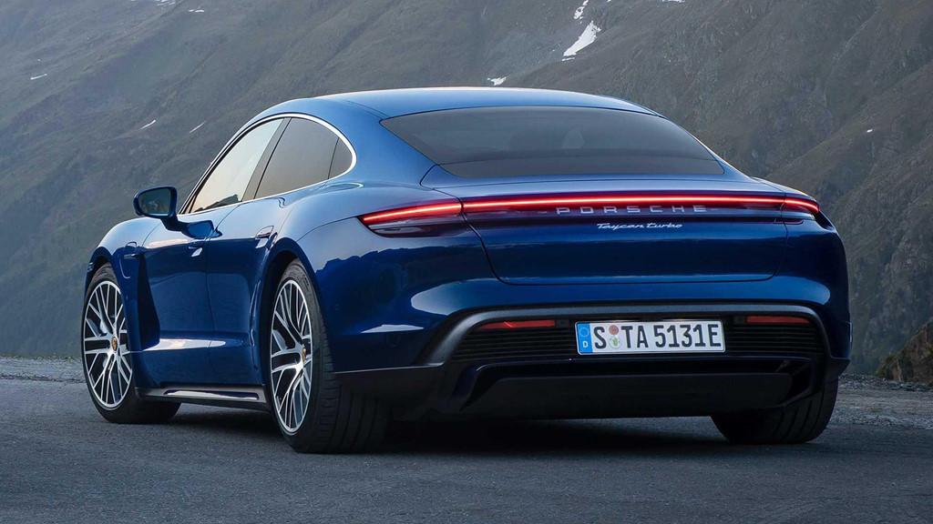 """2020porschetaycan 5 - Đánh giá Porsche Taycan 2021 - """"Tuấn mã"""" dũng mãnh của kỷ nguyên xe điện"""