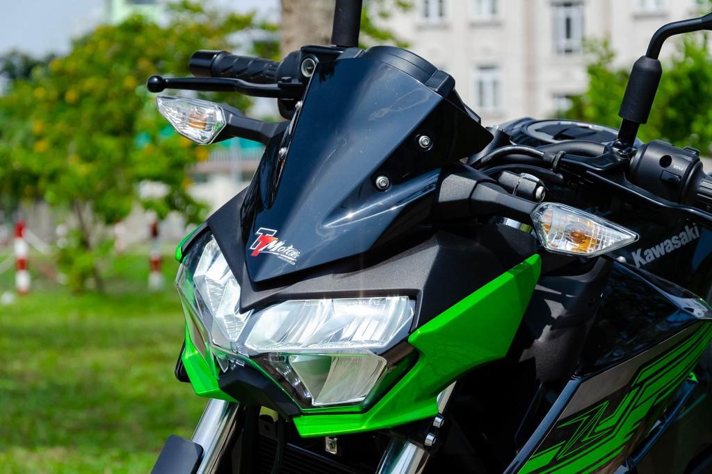 Kawasaki Z400 07 Xetot - Đánh giá Kawasaki Z400 2021: Naked bike trẻ trung đối đầu Honda CB300R