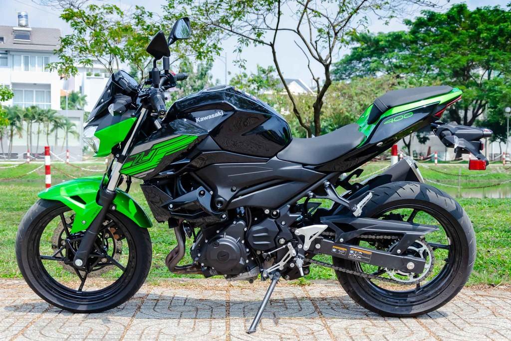 Kawasaki Z400 11 Xetot - Đánh giá Kawasaki Z400 2021: Naked bike trẻ trung đối đầu Honda CB300R