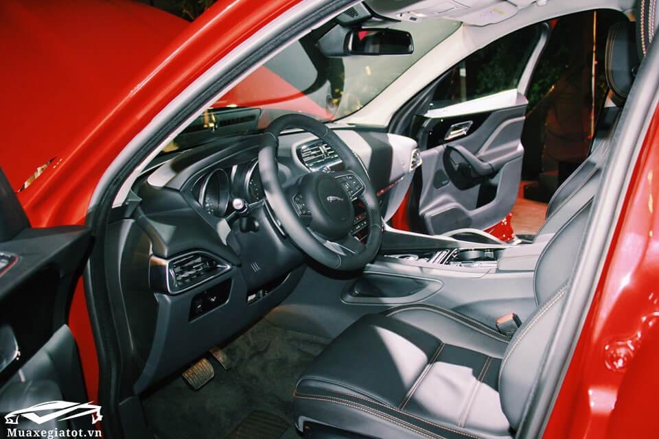 """gia xe jaguar f pace 2020 muaxegiatot vn 14 - Đánh giá xe Jaguar F-Pace 2021 - """"Chiến binh"""" SUV đầu tiên của Jaguar"""