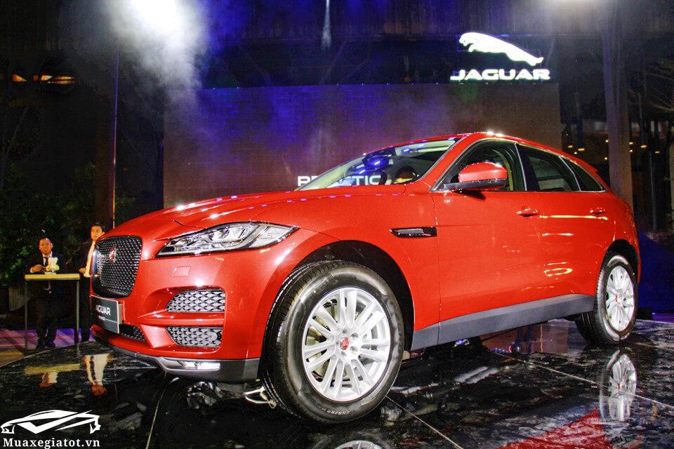 """gia xe jaguar f pace 2020 muaxegiatot vn 2 - Đánh giá xe Jaguar F-Pace 2021 - """"Chiến binh"""" SUV đầu tiên của Jaguar"""