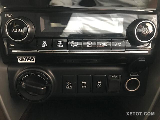 Điều hoà xe Fortuner 2.7V 4×2 máy xăng