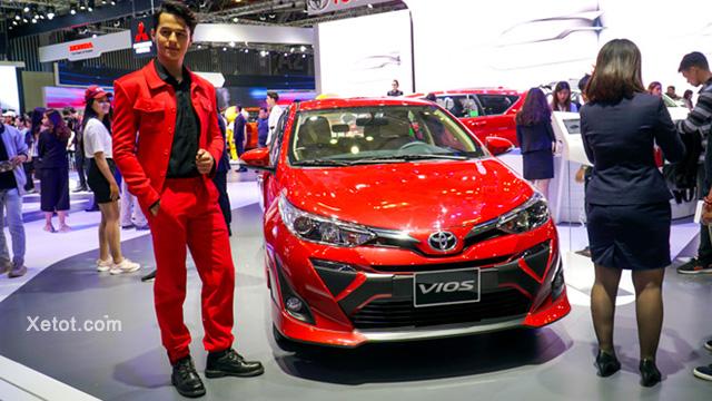 1 - Những thay đổi trên Toyota Vios 2021