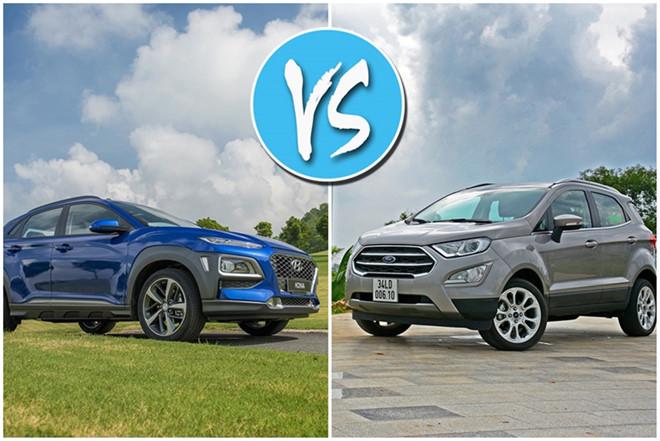 5 1 - So sánh Ford EcoSport 2020 và Hyundai KONA 2020: Xe Mỹ đối đầu Xe Hàn