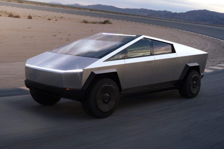 """Siêu xe bán tải điện """"lập dị"""" Tesla Cybertruck ra mắt"""