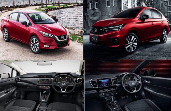 Muaxegiatot-vn-so-sanh-Honda-City-2020-va-Nissan-Sunny-2020-696x453