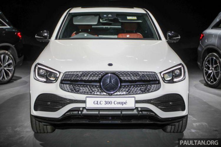 Đánh giá xe Mercedes GLC 300 Coupe 2020 kèm giá bán (03/2020)