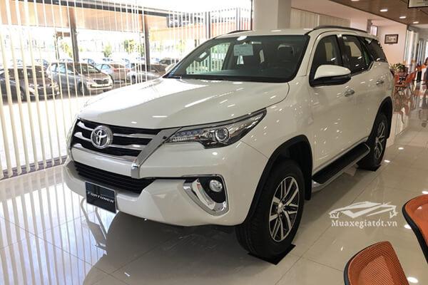 Chi tiết xe Toyota Fortuner 2.8AT 4×4 máy dầu, Biến thể cao cấp nhất của Fortuner