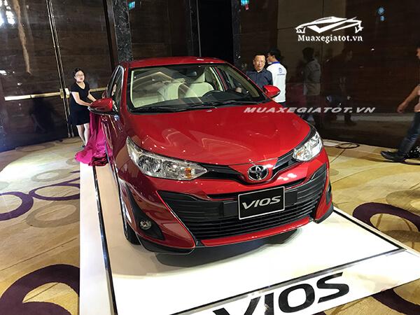 Toyota Vios 2019 đang bán tại Việt Nam