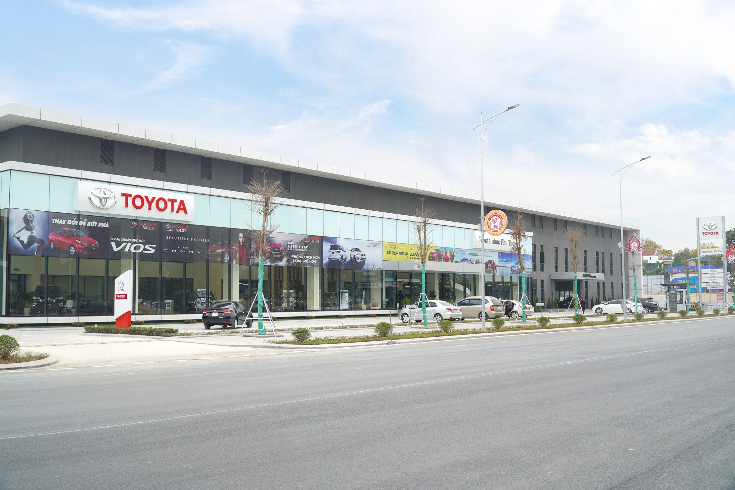 1 - Giới thiệu đại lý Toyota Phú Thọ, Tỉnh Phú Thọ