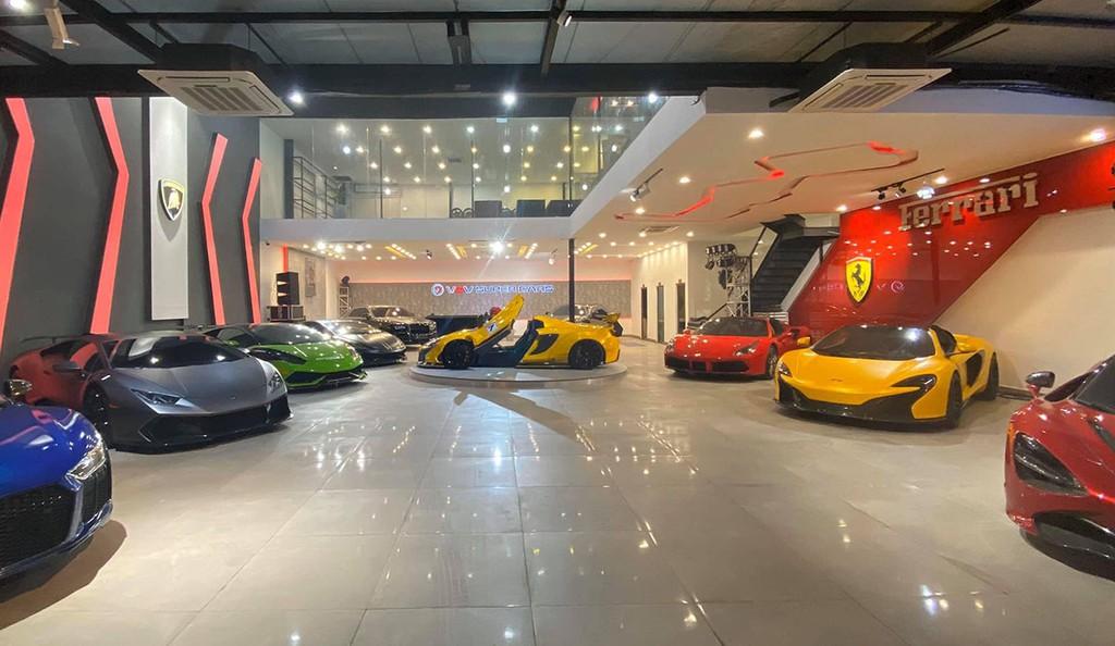 vov supercars quan 7 hcm xetot com 1 - Giới thiệu showroom siêu xe VOV Super Cars, Quận 7, TP. HCM
