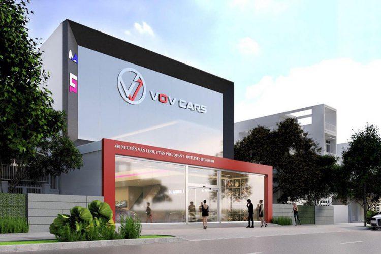 Giới thiệu showroom siêu xe VOV Super Cars, Quận 7, TP. HCM