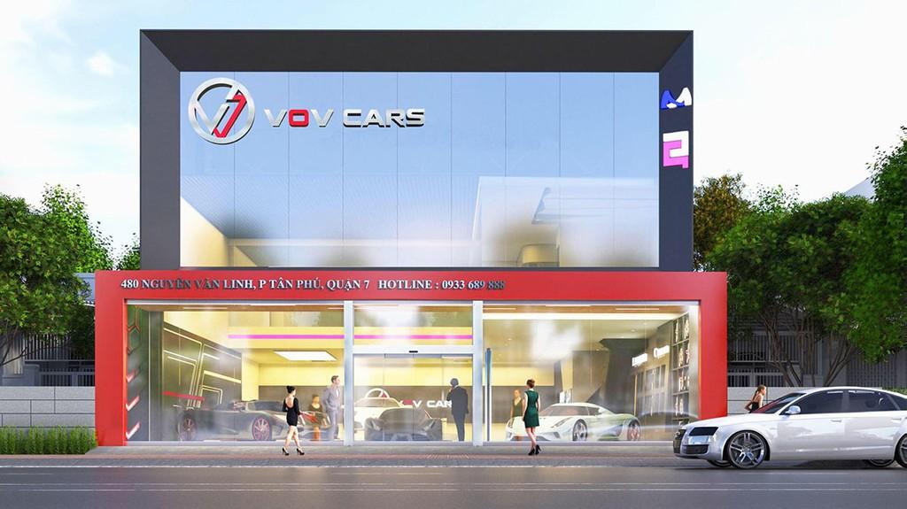 vov supercars quan 7 hcm xetot com 2 - Giới thiệu showroom siêu xe VOV Super Cars, Quận 7, TP. HCM
