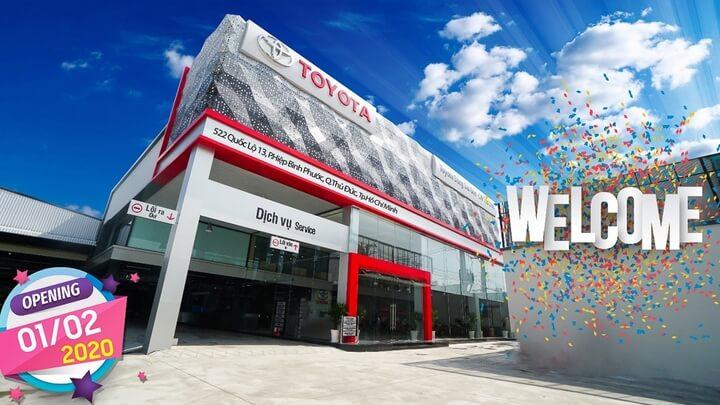n - Giới thiệu Toyota Đông Sài Gòn chi nhánh Thủ Đức