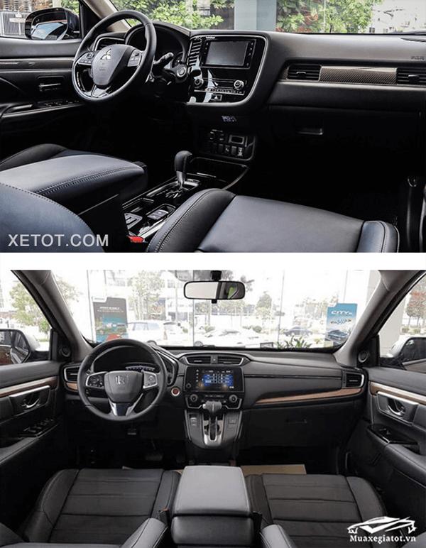 So sánh Mitsubishi Outlander 2020 và Honda CR-V 2020 - 4