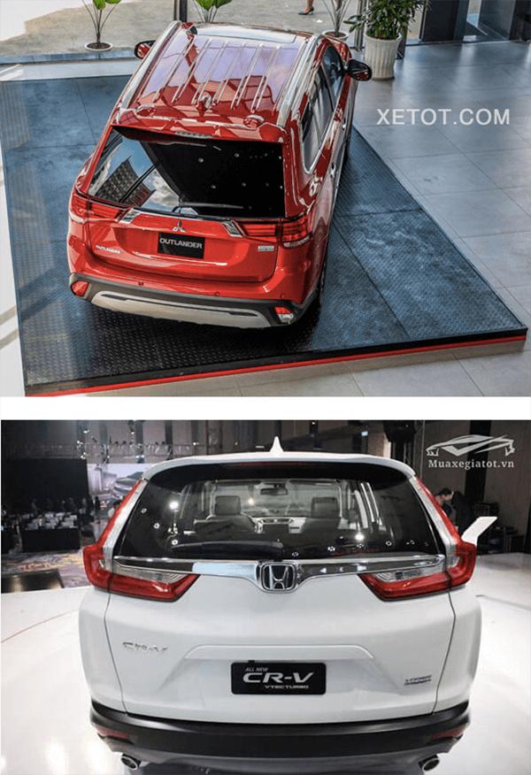 So sánh Mitsubishi Outlander 2020 và Honda CR-V 2020 - 5