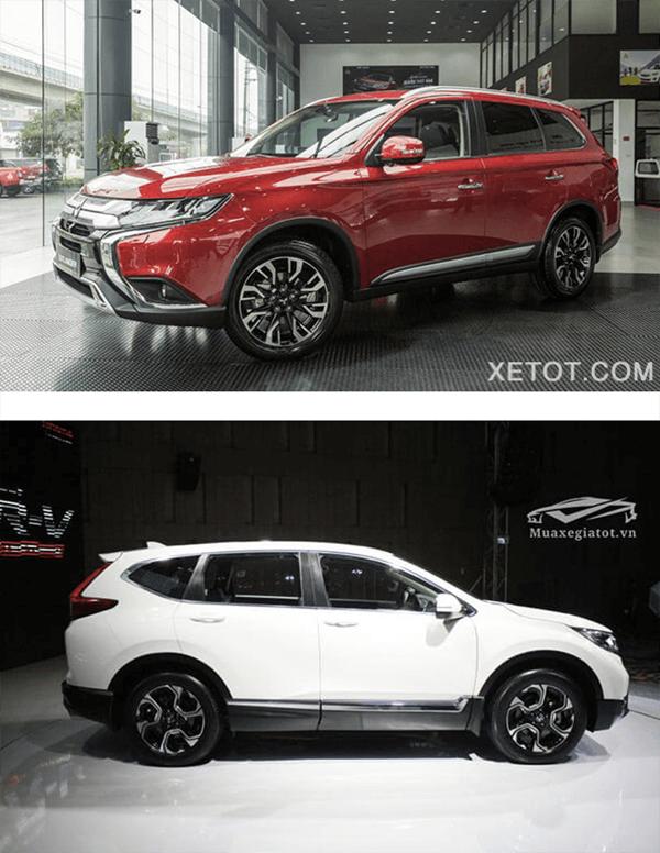 So sánh Mitsubishi Outlander 2020 và Honda CR-V 2020 - 6