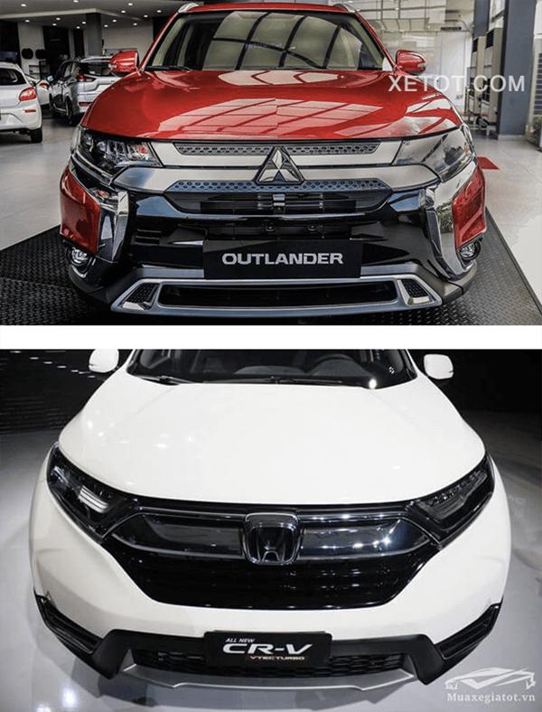 So sánh Mitsubishi Outlander 2020 và Honda CR-V 2020 - 7