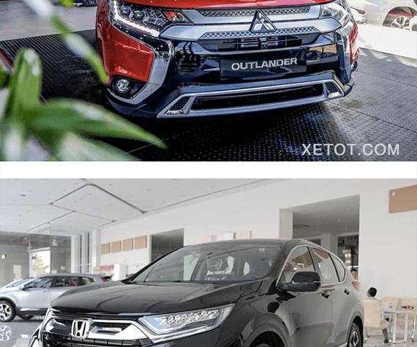 So sánh Mitsubishi Outlander 2020 và Honda CR-V 2020 - 8