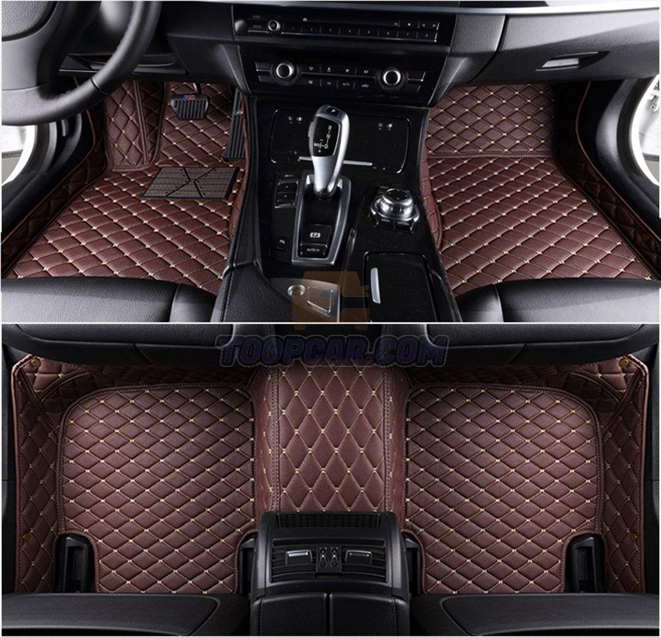 3 1 - Thảm lót sàn ô tô 6D, Phụ kiện nên có khi mua xe mới
