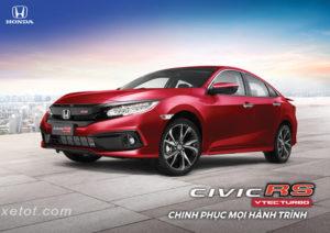 5 300x212 - Chi tiết xe Honda Civic RS màu đỏ - Xe sedan cá tính
