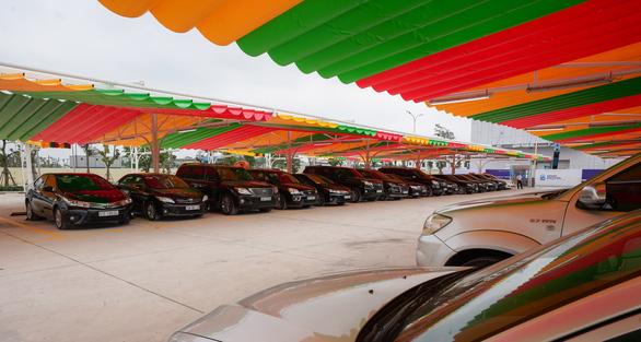 Hiện chương trình đổi xe cũ lấy xe mới chỉ đang áp dụng tại thị trường Hà Nội