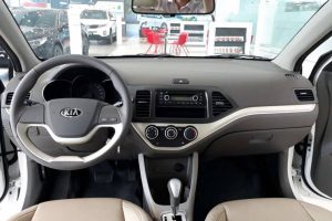 """Kia Morning Standard AT anh 7 300x200 - Chi tiết xe Kia Morning Standard AT 2021 - số tự động giá """"chạm"""" sàn"""