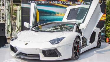 giá xe Lamborghini